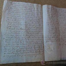 Manuscritos antiguos: LEVAS MILITARES EN CATALUÑA. Lote 35878314