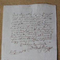 Manuscritos antiguos: GALICIA.VALLE DE BARCIA CONSTRUCCION CAPILLA SAN ESTEBAN DE QUIMBRE. Lote 35901928