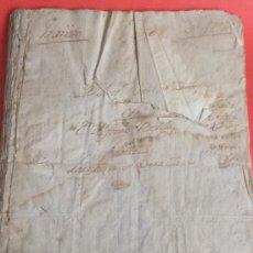 Manuscritos antiguos: MANUSCRITO JUDICIAL RECLAMACION CABALLO A, GARCIA ZARAGOZA A, BELLIDO DE RESTABAL GRANADA 1790. Lote 36004837