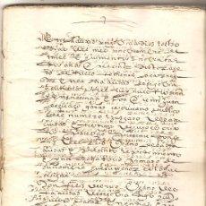 Manuscritos antiguos: NOBLEZA RÍOS (INFORMACIÓN SOBRE LINAJE DE FAMILIA). Lote 36379839