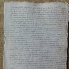 Manuscritos antiguos: MEXICO TRASLADO DE PROVISIÓN REAL A HERNANDO RIBADENEIRA. Lote 36730394