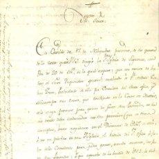 Manuscritos antiguos: DOCUMENTO SOBRE DERECHOS DE CONSULTORES DEL SANTO OFICIO. ALCALÁ HENARES, 1794. MANUSCRITO. Lote 36899627