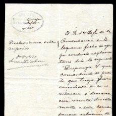 Manuscritos antiguos: *** INTERESANTE DOCUMENTO DE LA GUARDIA CIVIL SOLICITUD INFORMACIÓN A OTRO CUARTEL 1931 BADAJOZ ***. Lote 194603700
