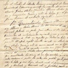 Manuscritos antiguos: ** INTERESANTE DOCUMENTO MANUSCRITO 1895. NOMBRAMIENTO DE ALBACEA Y TESTAMENTO, LEDRADAS (ZAMORA) **. Lote 37186949