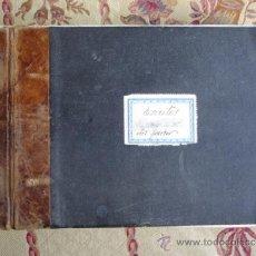 Manuscritos antiguos: ESCRITOS ,MEDITACIONES MANUSCRITOS DEL PASTOR J ROMAN.1947-1969.ESPIRITISMO.SEVILLA.CON PARTITURAS. Lote 37435763