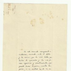 Manuscritos antiguos: FRAGMENTO MANUSCRITO Y FIRMADO POR PEDRO LAÍN ENTRALGO. Lote 37818660