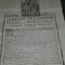Manuscritos antiguos: PERGAMINO FACSIMIL JUVILEO PLENÍSSIMO EN LA SANTA Y APOSTÓLICA IGLESIA DE SANTIAGO DE GALICIA.. Lote 77143149