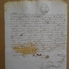 Manuscritos antiguos: MANUSCRITO DE 1846. Lote 38653409