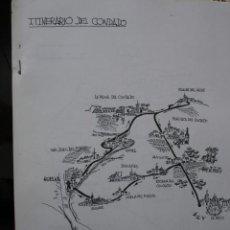 Manuscritos antiguos: ITINERARIO DEL CONDADO HUELVA.1985 ALFONSO MARTINEZ CHACON.. Lote 38955495