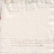 Manuscritos antiguos: MANUSCRITO CANARIAS (MONEDA). 1686. Lote 38930392