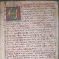Manuscritos antiguos: PRECIOSO E IMPORTANTE MANUSCRITO SOBRE LA COFRADÍA Y HOSPITAL DE SAN ANDRÉS DE CORDOBA. 1487. Lote 39087318