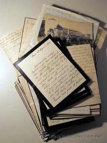 Manuscritos antiguos: EPISTOLARI D'UNA FAMÍLIA BENESTANT DE REUS D'AGOST DEL 1935 a ABRIL DEL 1936 - (Baix Camp - Reus) - Foto 2 - 39216069