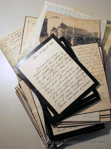 Manuscritos antiguos: EPISTOLARI D'UNA FAMÍLIA BENESTANT DE REUS D'AGOST DEL 1935 a ABRIL DEL 1936 - (Baix Camp - Reus) - Foto 3 - 39216069
