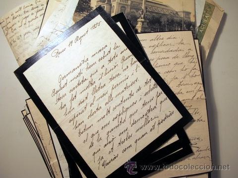 Manuscritos antiguos: EPISTOLARI D'UNA FAMÍLIA BENESTANT DE REUS D'AGOST DEL 1935 a ABRIL DEL 1936 - (Baix Camp - Reus) - Foto 5 - 39216069