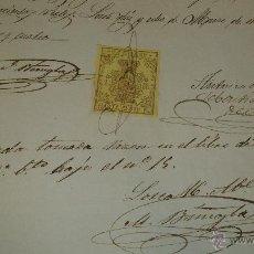 Manuscritos antiguos: ANTIGUO DOCUMENTO MANUSCRITO S. XIX LORCA MURCIA 1864. Lote 40480534