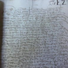 Manuscritos antiguos: FIRMA DELCONDE DE PRIEGO 1508 . PODER ALCABALAS DE GUADALAJARA. Lote 40758253