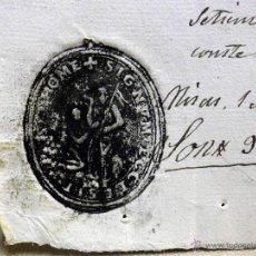 Manuscritos antiguos: RECIBO, LIMOSNA POR 150 MISAS, A 6 REALES DE VELLON, 900 REALES VELLON, SANTO TOMAS, VALENCIA, 1860. Lote 40861786
