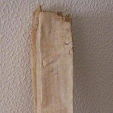 Manuscritos antiguos: AÑO 1602 CONTRATO NUPCIAL * MANUSCRITO ESPAÑOL SOBRE PERGAMINO 44 CM X 45 CM . Lote 40955190