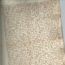 Manuscritos antiguos: MANUSCRITO. TORRALBA (SORIA) 1489. MUY BUEN ESTADO. DIEGO DE VARRIONUEBO (BARRIONUEVO). Lote 41271375