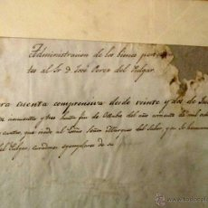 Manuscritos antiguos: DOCUMENTOS MANUSCRITOS DEL SIGLO XIX, 1848-1854. MUERTE POR TRABUCAZO. Lote 41275685