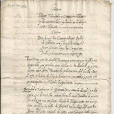 Manuscritos antiguos: MANUSCRITO. TOLEDO. GENEALOGÍA. 1602 - FÚCARES. Lote 41291427
