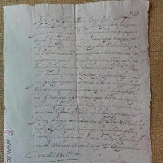 Manuscritos antiguos: VENTA DE NAIPES SEGOVIA. Lote 35878672