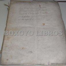 Manuscritos antiguos: CARTA DE PRIVILEGIO DEL REY FELIPE II A PRIORA, MONJAS Y CONVENTO DE SANTA ISABEL DE SEVILLA. 1583. Lote 40885711
