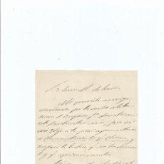 Manuscritos antiguos: CARTA AUTÓGRAFA DE CÁNDIDO NOCEDAL A LUIS MARIANO DE LARRA - GALICIA. Lote 41597301