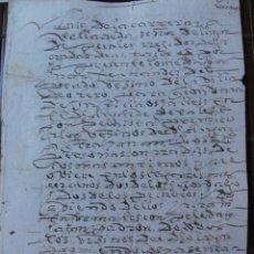 Manuscritos antiguos: ASTORGA OTERO LA CEPEDA. Lote 42156662