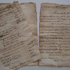 Manuscritos antiguos: CARTA PREFILATELICA 1813 CONDE DE RIPALDA MARQUÉS DE CAMPOSALINAS SAN FELIPE A VALENCIA. Lote 42906039
