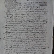 Manuscritos antiguos: CARTA DE PAGO MONASTERIO CONCEPCIÓN JERONIMA. Lote 43244351