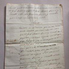 Manuscritos antiguos: ANTIGUO MANUSCRITO AÑO 1831 CAPITULOS MATRIMONIALES, FAMILIA BASORA - TARRAGONA - 9 PÁGINAS. Lote 43275386