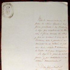 Manuscritos antiguos: TARRAGONA. HACIENDA PÚBLICA. APREMIO. MANUSCRITO. 1869. Lote 43614988