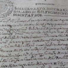 Manuscritos antiguos: CARTA DE PAGO CONVENTO CONCEPCION JERONIMA. Lote 44091690