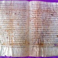 Manuscritos antiguos: MANUSCRITO CODEX LITURGICO ORIGINAL, ESCRITURA CAROLINA SIGLO XI (MUY RARO). Lote 44207222