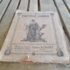 Manuscritos antiguos: LIBRETA MANUSCRITADE UN ESTUDIANTE DE FRANCES AÑO 1926 CHARLES ROBERT. Lote 44456152