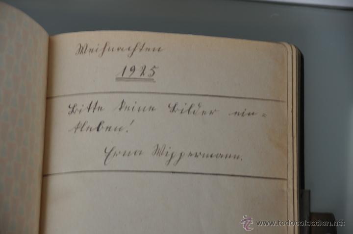 Manuscritos antiguos: antigua libreta con poesias manuscritas en alemán , alemania año 1925 y 1926 , - Foto 2 - 44931767