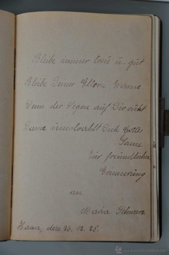 Manuscritos antiguos: antigua libreta con poesias manuscritas en alemán , alemania año 1925 y 1926 , - Foto 4 - 44931767