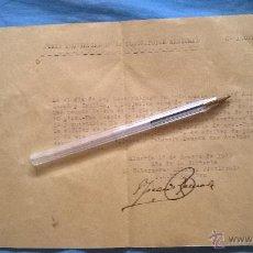 Manuscritos antiguos: DONACION JOYAS PLATA ORO A LA JUNTA PROVINCIAL SUSCRIPCION NACIONAL POR FAMILIA D BERJA ALMERIA 1939. Lote 45429706
