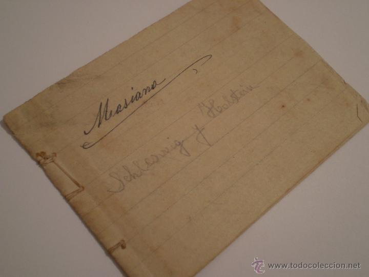Manuscritos antiguos: ANTIGUO PROGRAMA ESCOLAR MANUSCRITO.GEOGRAFIA,4º CURSO. AÑOS 20,30 - Foto 5 - 45473567