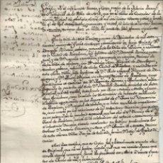Manuscritos antiguos - MANUSCRITO 1800 - AOIZ NAVARRA - CERTIFICADO DE MATRIMONIO - 45491546