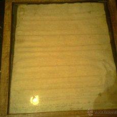 Manuscritos antiguos: PERGAMINO EN PIEL DE CABRA POSIBLE SIGLO XVI. Lote 45537825