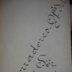 Manuscritos antiguos: OBRAS OFICIALES REALIZADAS EN EL AYUNTAMIENTO DE SEVILLA DURANTE EL AÑO 1909. Lote 45567275