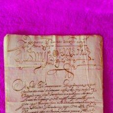 Manuscritos antiguos: SALAMANCA, MANUSCRITO DE PROCESO PERSONAL DE DIEGO DE VERA CONTRA SU HIJO GARCIA DE VERA 1549-1609. Lote 45723173