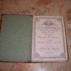 Manuscritos antiguos: ESCRITURAS CASA DE SEVILLA 1849-1893. Lote 45982408