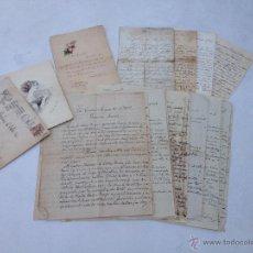 Manuscritos antiguos: LOTE DE 16 ANTIGUAS CARTAS Y TARJETAS MANUSCRITAS AÑOS 1898 AL 1921 # PA010. Lote 46199025