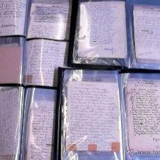 Manuscritos antiguos: GRAN CONJUNTO POESIAS MANUSCRITAS ORIGINALES INÉDITAS RAFAEL DURANCAMPS FIRMAS (SABADELL) VER VIDEO. Lote 46220071