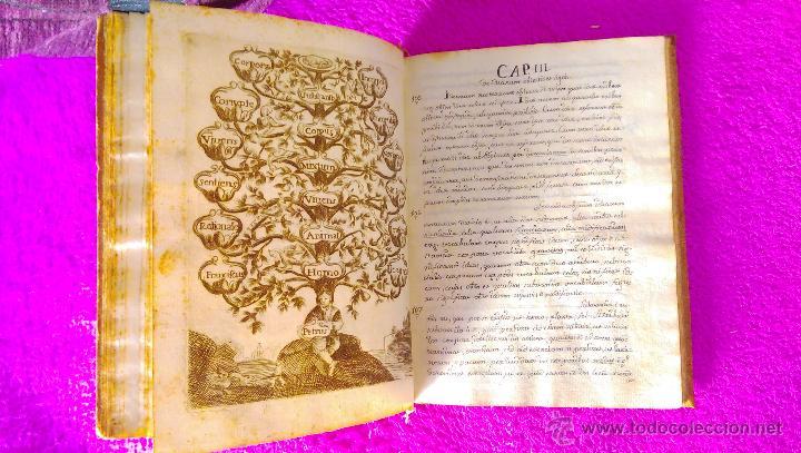 Manuscritos antiguos: CASTELLON, MANUSCRITO CON DIBUJOS, GRABADOS DE FILOSOFIA, MIGUEL VILLAROIG, MANUEL JOAQUIN POZO 1773 - Foto 3 - 46546989