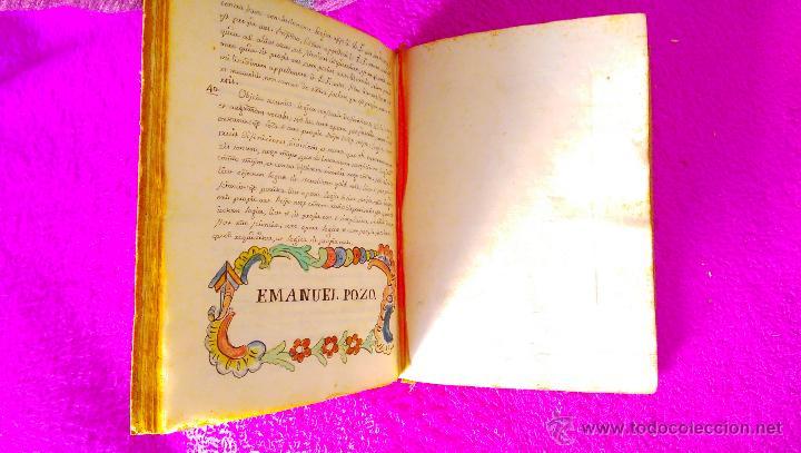 Manuscritos antiguos: CASTELLON, MANUSCRITO CON DIBUJOS, GRABADOS DE FILOSOFIA, MIGUEL VILLAROIG, MANUEL JOAQUIN POZO 1773 - Foto 4 - 46546989