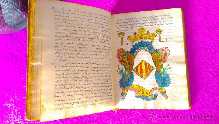 Manuscritos antiguos: CASTELLON, MANUSCRITO CON DIBUJOS, GRABADOS DE FILOSOFIA, MIGUEL VILLAROIG, MANUEL JOAQUIN POZO 1773 - Foto 5 - 46546989